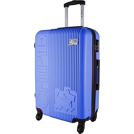 Chipie - Maleta de Cabina Rígida ABS 4 ruedas 55 cm azul: Amazon.es: Oficina y papelería