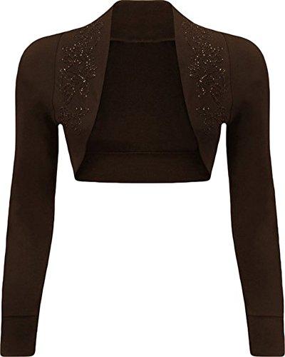 Fashion charming - Torera - para mujer marrón