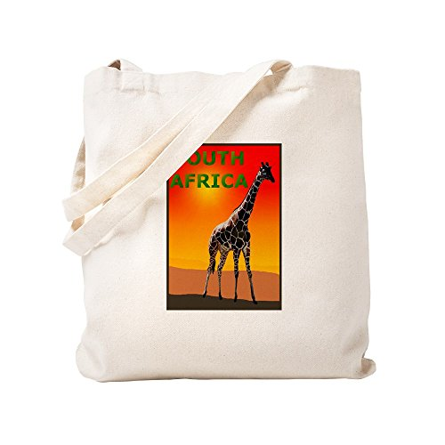 CafePress - Giraffe South Africa - Natural Canvas Tote Bag, Cloth Shopping Bag by CafePress