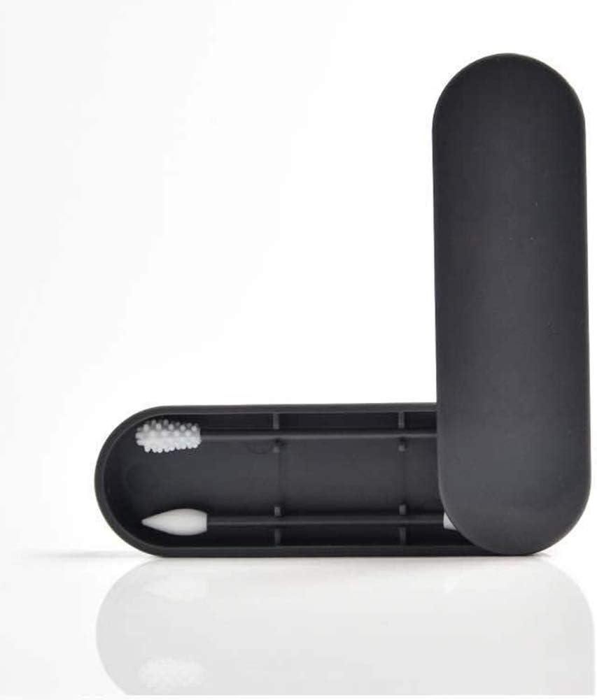 Bastón de algodón reutilizable de silicona para limpieza de oídos, bastones de algodón: Amazon.es: Belleza