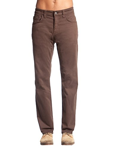 - Mavi Men's Zach Regular-Rise Straight-Leg Jeans, Coffee Bean Twill, 31W X 34L
