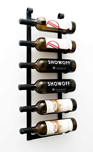 7 bottle wall wine rack - 3