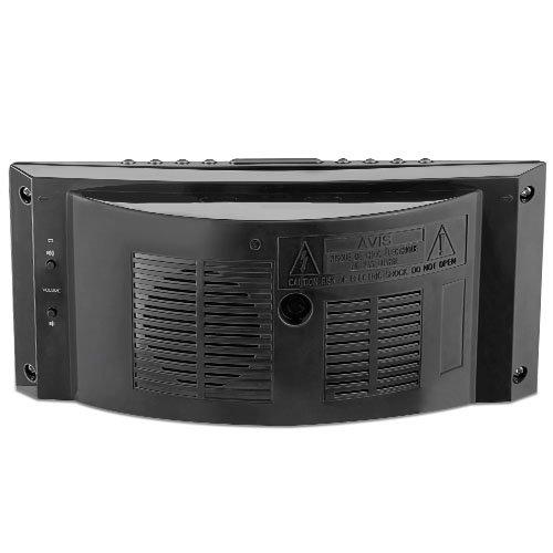 electrohome 1 8 jumbo led alarm clock radio with battery backup auto time set digital am fm. Black Bedroom Furniture Sets. Home Design Ideas
