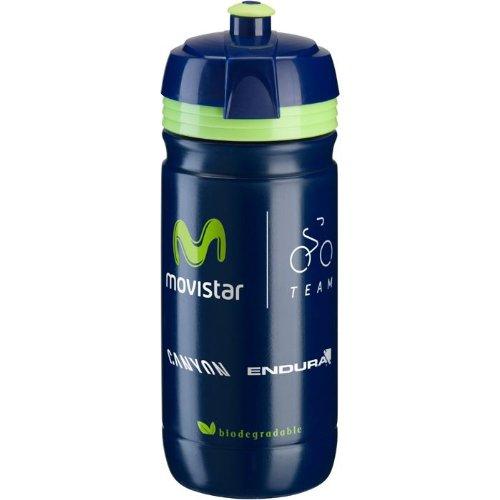 Elite Corsa Team Water Bottle Movistar, 550ml