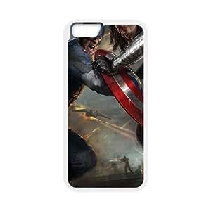 Captain America iPhone 6 4.7 Inch Cell Phone Case White BI9323195