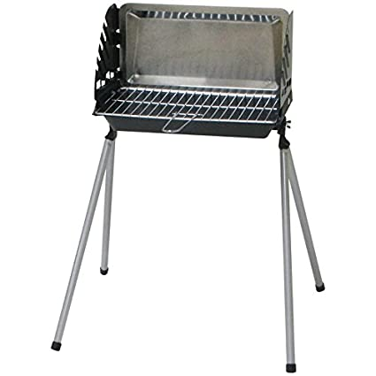 Barbacoa hierro fundido Convertible Barbeco, 40,5 x 23 cm