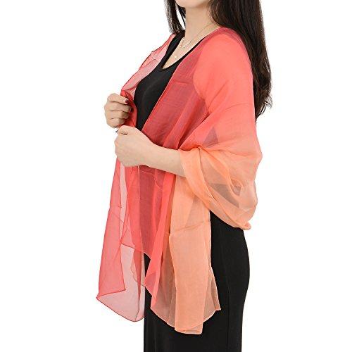 GSG 6.99 Womens Fashion Silk Shawl Wraps Square Scarf Beach Pool Party REAL SILK or Polyester