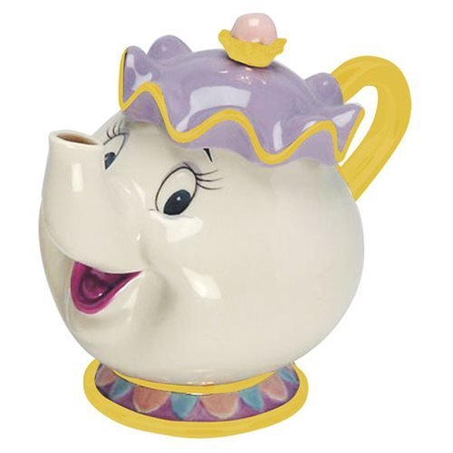 Mrs Teapot (Beauty and the Beast Mrs Potts Sculpted Teapot)