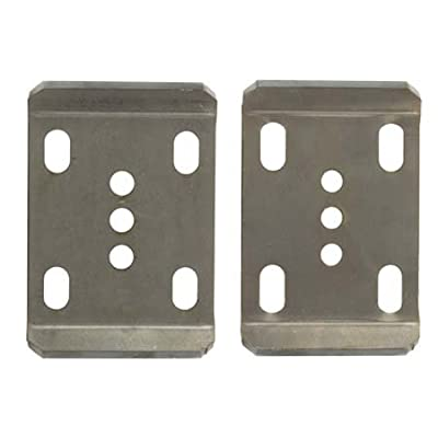Ruffstuff Specialties Leaf Spring UBolt Plates (Pair) Chevy Ford Dodge Jeep Scout (Dana 60 Front Ford): Automotive