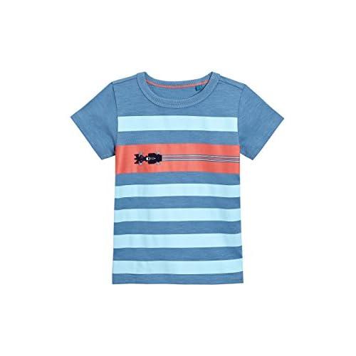 official photos 3bd19 2a59b next Niños Pack De Cuatro Camisetas A Rayas, De Manga Corta Y con Coches (