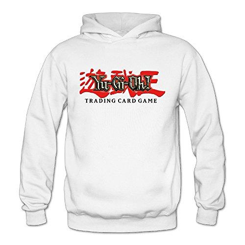 Yu-Gi-Oh! Classic Women's Hooded Sweatshirts White L]()