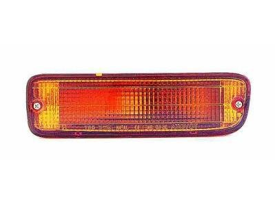 DRIVER SIDE SIGNAL LIGHT Toyota Tacoma ASSEMBLY; FOR 1997 4-WHEEL DRIVE AND 1900 2-WHEEL DRIVE WITHOUT PRE-RUNNER MODELS; IN VALANCE PANEL