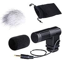 Movo Photo VXR260 Mini X/Y Stereo Condenser Video Microphone for DSLR Video Cameras