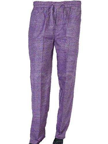 Trouser Handloom Cotton Purple