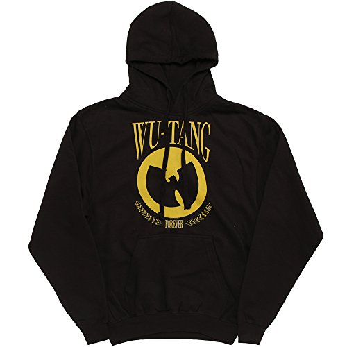 Wu-Tang Clan Forever Pullover Hoodie - Black (Large) (Forever Pullover Hoody)