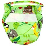 Image: Kushies Ultra Lite All in One Diapers | environmentally friendly alternative to disposable diapers | 6 layers 100% soft cotton-flannel | special absorbent soaker inside