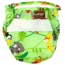 Kushies Ultra Lite All in One Diapers - Toddler - Aussie Gre