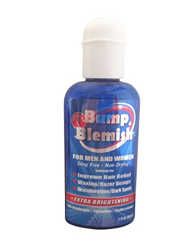 UPC 606604560607, BUMP & BLEMISH-2 Oz. (60 ml) ROLL-ON Solution for all hair removal complications: razor bumps (Pseudofolliculitis Barbae or PFB), razor burn, ingrown hairs AND the dark hyperpigmented spots they leave behind. Extra brightening formula.
