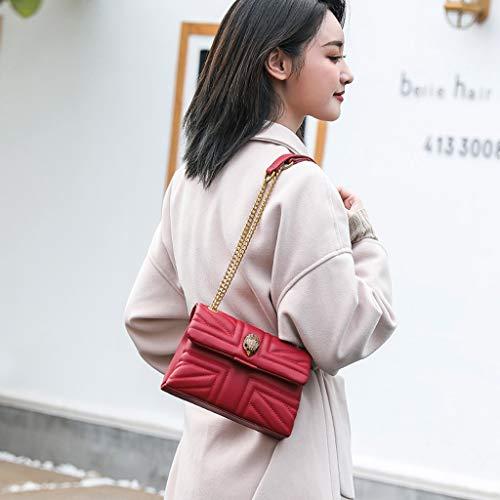 Catena Female Tracolla Crema 20 Fragrance Wild colore Bianco 5cm Shoulder Dimensioni Fashion 5 5 Small Single 7 Red 14 New A Bag Borsa p65q50