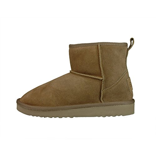 Shoes Suede EU41 Tan Sella UK8 Dude Ladies Boot f6wpRnfqd