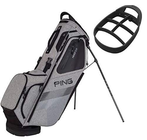 PING Hoofer Stand Golf Bag 2018 (Heather Grey/Black) ()