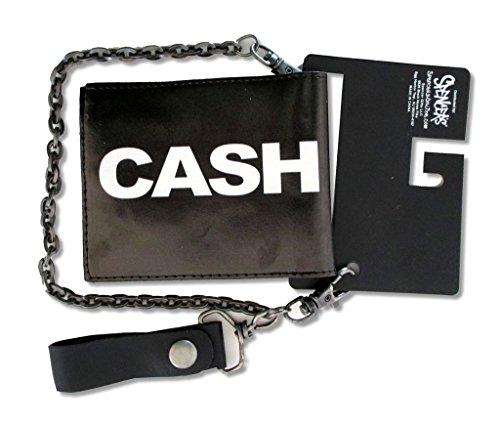 [해외]조니 캐주얼 미들 핑거 체인/Johnny Cash Middle Finger Chain Wallet