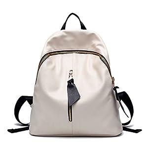 LOMOL Girls Korean Style Fashion Large Capacity College Style Leather Shoulder Bag Backpack(C3)