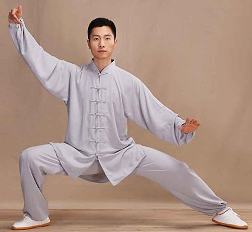Men & Women Handmade Cotton & Linen Taichi Uniform