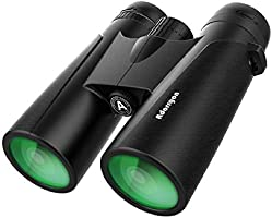 12x42 Powerful Binoculars with Clear Weak Light Vision - Lightweight (1.1 lbs.) Binoculars for Birds Watching Hunting...