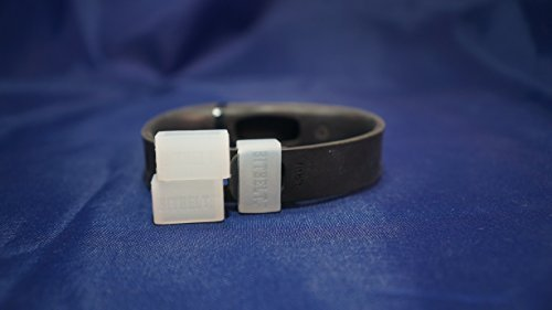 3 PACK Bitbelt Jr Clear - Clear (Glow in the dark) Protect your Fitbit Flex from Loss with Bitbelt.