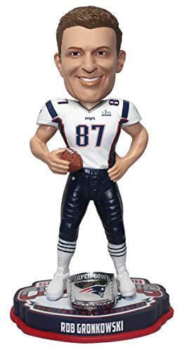 Rob Gronkowski (New England Patriots) Super Bowl LIII Champions Bobblehead by Foco