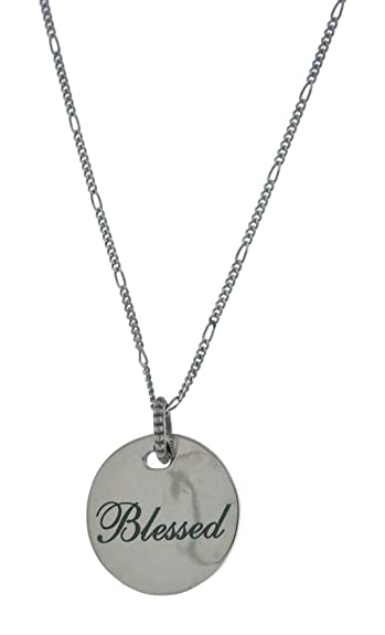 8b7380386 Image Unavailable. Image not available for. Color: PANDORA Blessed Pendant  925 Sterling Silver Necklace ...