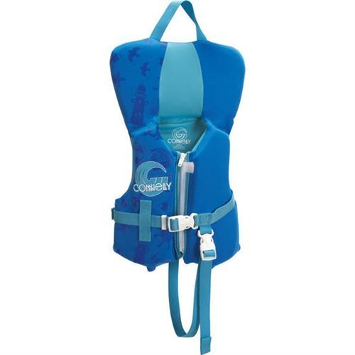 Vest Neo Infant (Connelly Infant Boy's Promo Neo Vest - Coast Guard Approved)