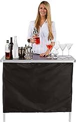 Trademark Innovations Portable Bar Table...
