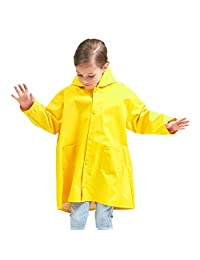 Mini Balabala Kids Rain Jacket Age 2-10 Dinosaur Shaped Lightweight Rainwear for Boy for Girl