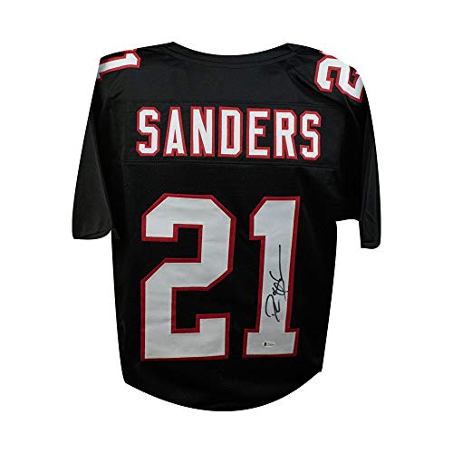 Deion Sanders Autographed Atlanta Falcons Custom