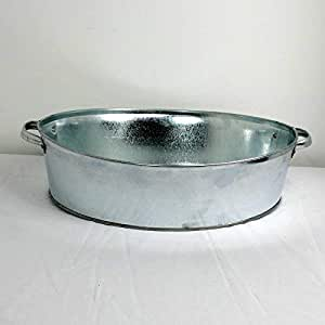 Zinc bañera ovalada, 20L)