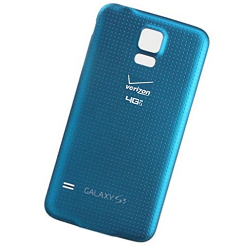 - Generic Battery door case Back Cover housing for Samsung Galaxy S5 Verizon G900V (Blue)