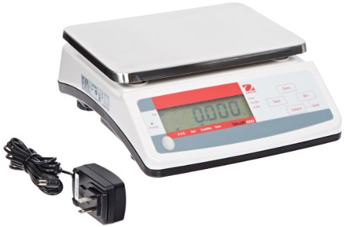 Ohaus Valor V11P15 1000 Series Compact Portion Scales, Single Display Model, 33lb (1000 Series External Battery)