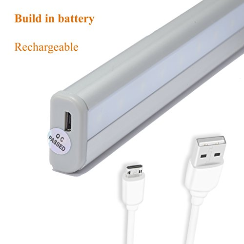 rechargeable diy stick on anywhere portable 20 led wireless motion sensing new ebay. Black Bedroom Furniture Sets. Home Design Ideas