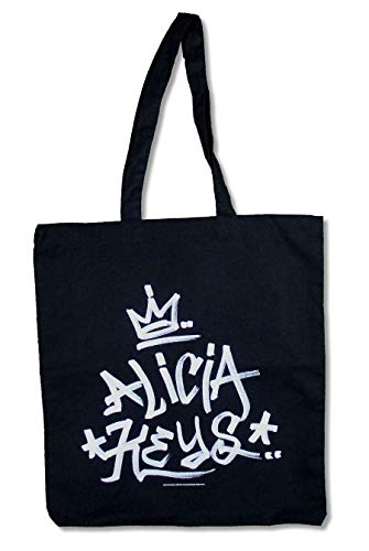 Alicia Keys King Crown Black Tote Bag