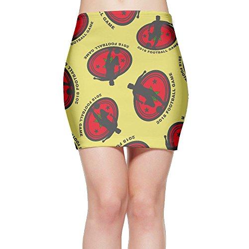 SKIRTS WWE 2018-football-game-Morocco Women Slim Fit High Waisted Mini Short Skirts by SKIRTS WWE