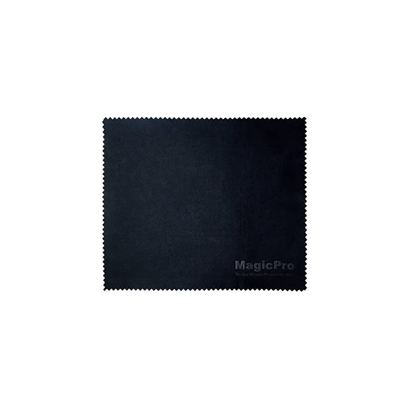 """Microfiber Cloth, Magicpro Microfiber Cleaning Cloths - For All LCD Screens, Eyeglasses, Sunglasses, Tablets, Lenses, and Other Delicate Surfaces 6""""x7"""""""