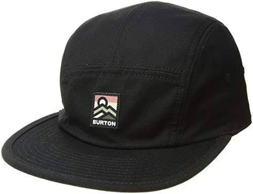 Burton Men's Cordova 5-Panel Camp Hat, True Black W19, One Size