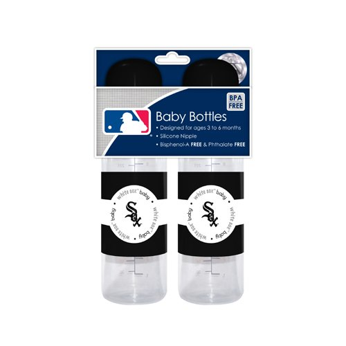 MLB Chicago White Sox Baby Bottles, by Baby Fanatic   B003C0CCWE