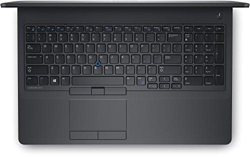 Dell Latitude E5570 Laptop, 15.6 Inch HD Display (Intel Core 6th Generation i7-6600U, 16 GB DDR4, 256 GB SSD) Windows 10 Pro (Renewed)