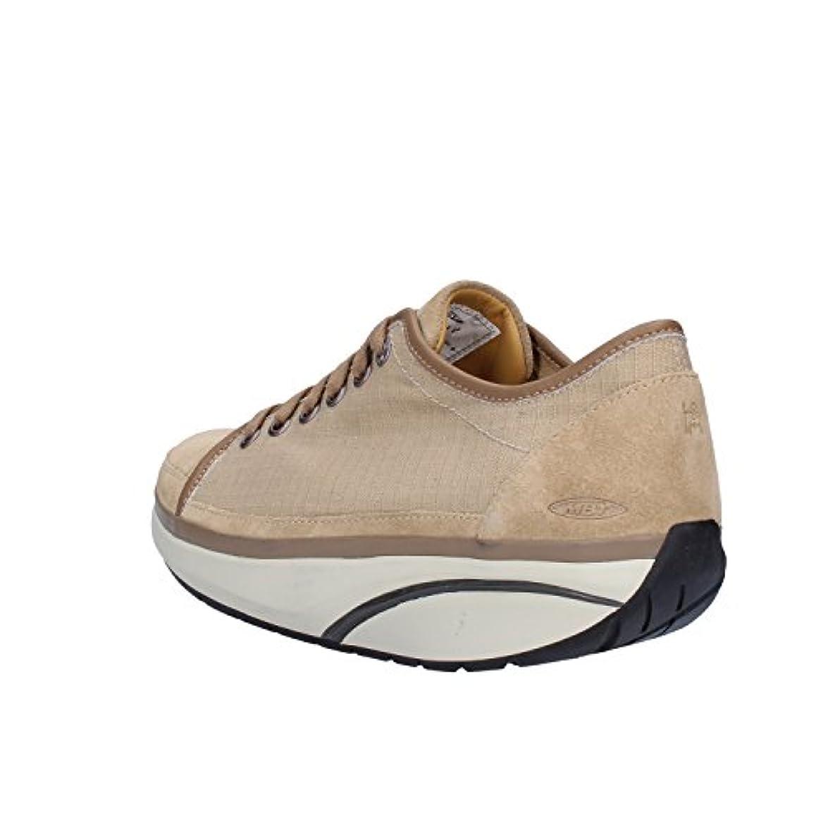 Mbt Sneaker Donna Tessuto Beige