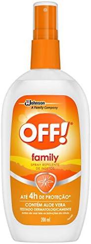 Repelente Off Family Spray 200ml