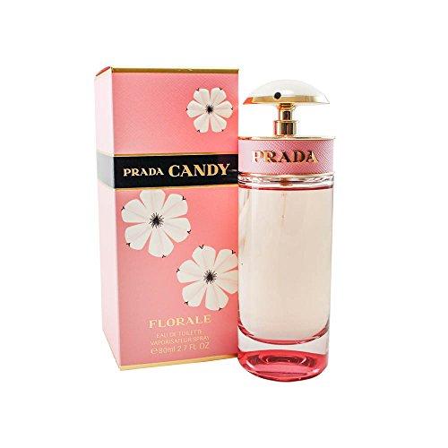 Prada Candy Florale Eau De Toilette Spray, 2.7 - Prada Store Usa