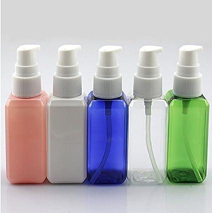 Generic SKU2: 50 ml botellas de plástico de maquillaje cosméticos bomba de vacío Viajes Tamaño